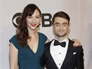 Erin Darke a Daniel Radcliffe na Tony Awards (New York, 8. června 2014)