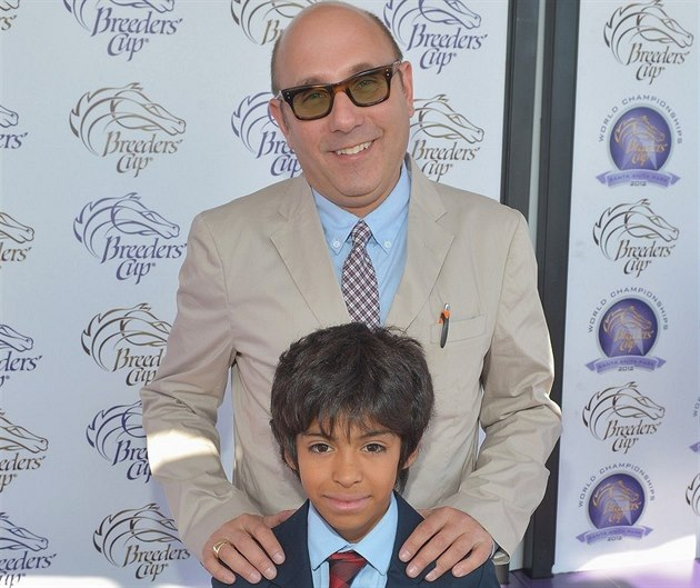 Willie Garson a jeho syn Nathen  (Los Angeles, 3. listopadu 2012)