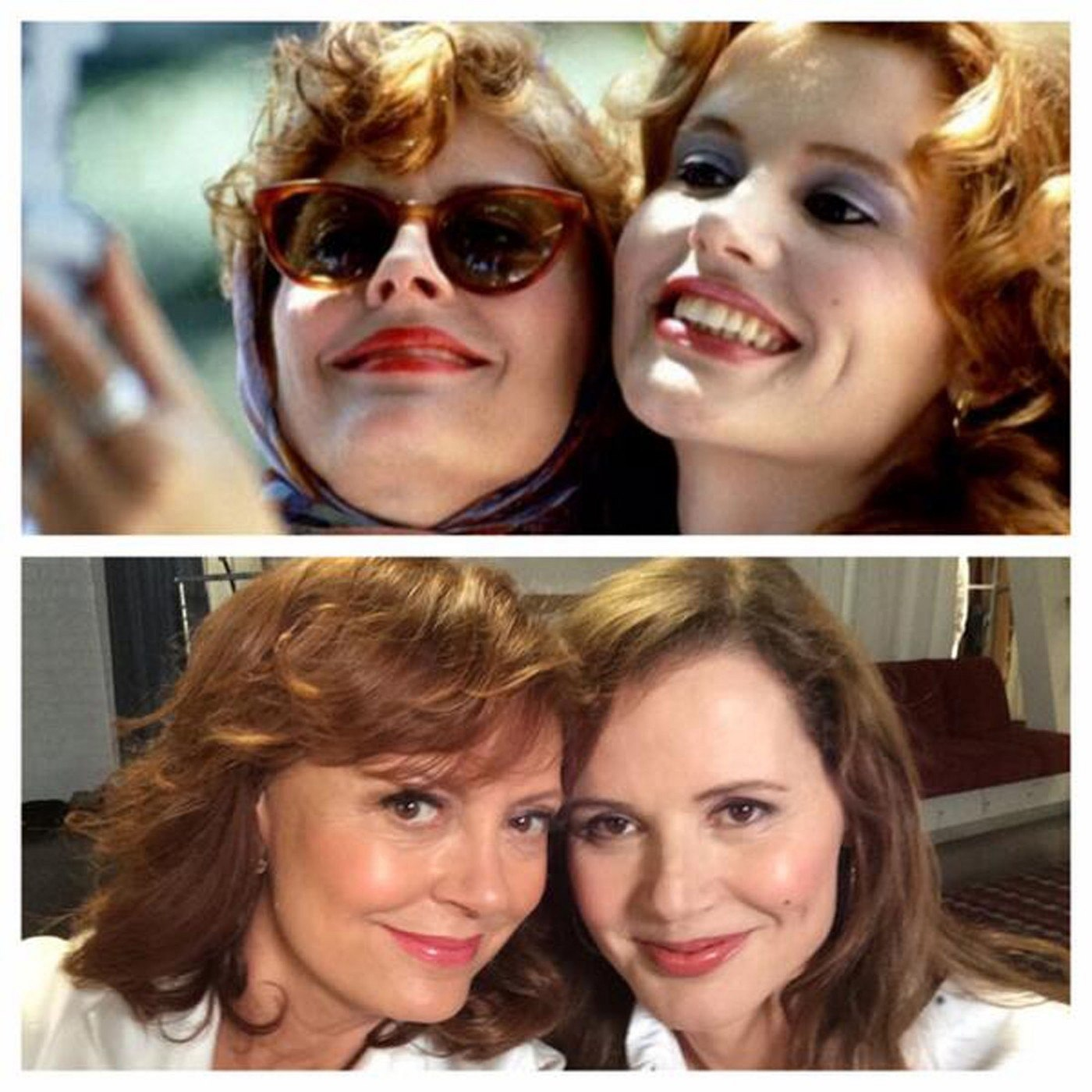 Thelma a Louise udělaly selfie po 23 letech