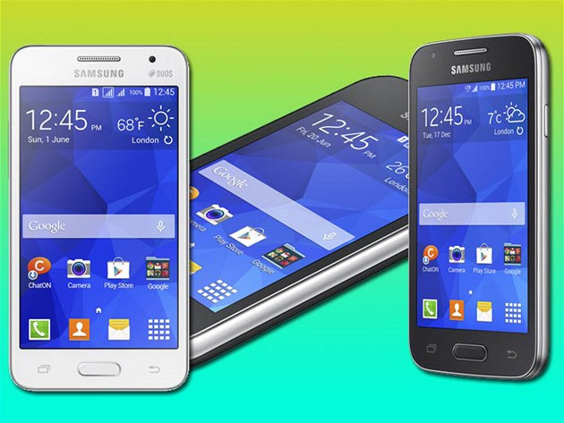 Samsung Galaxy Young 2, Core II a Ace 4