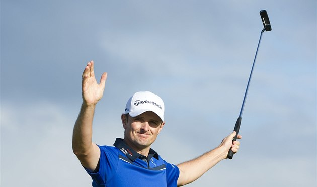 Justin Rose má na golfovém Scottish Open důvod k radosti.