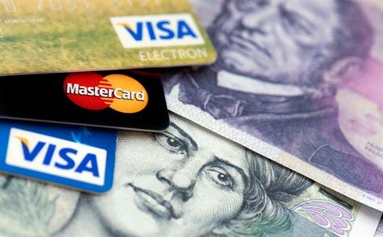 kreditní karta masáž ruční práce