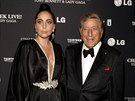 Lady Gaga a Tony Bennett (New York, 28. července 2014)