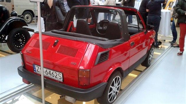 Fiat Cabrio 650 v Technickém a dopravním muzeu ve Štětíně