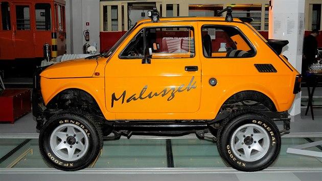 Verze Fiatu 126p s názvem Little Samurai (Technické a dopravní muzeum ve Štětíně)