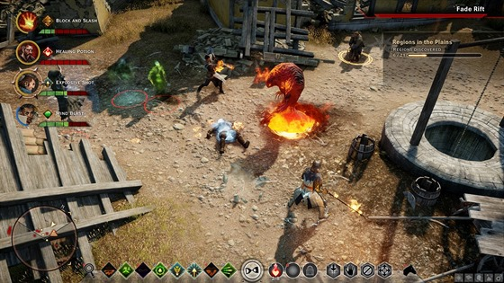 Hra Dragon Age: Inquisition, kter� vznikla ve studiu BioWare.