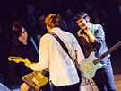 Thurston Moore Band, Praha, Lucerna Music Bar 30. listopadu 2014 (James...