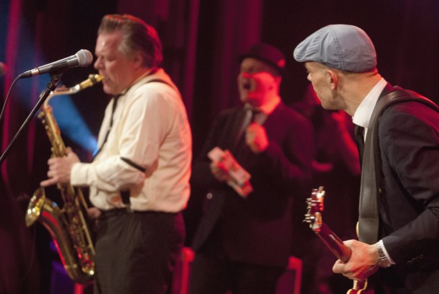 Thorbjorn Risager & The Black Tornado (Blues Alive 2014, Šumperk)
