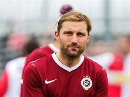 Milan Fukal ze Sparty po vítězném Silvestrovském derby.
