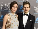 Keira Knightley a James Righton (Los Angeles, 15. ledna 2015)