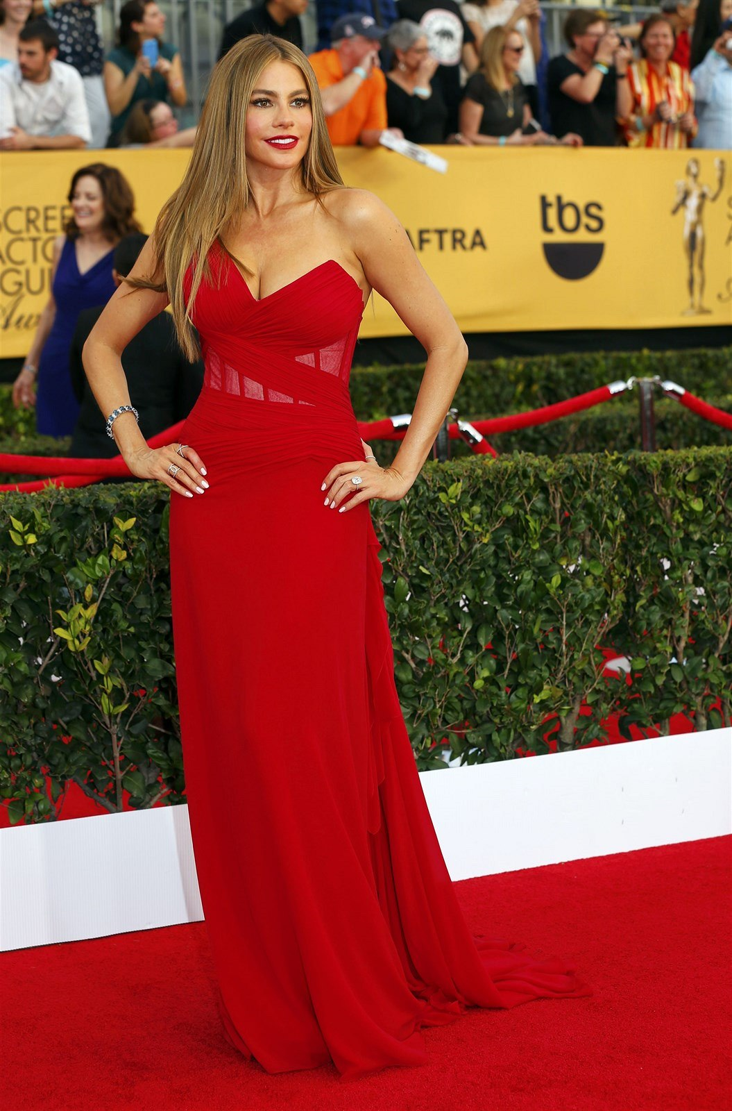 Sofia Vergara (Los Angeles, 25. ledna 2015)