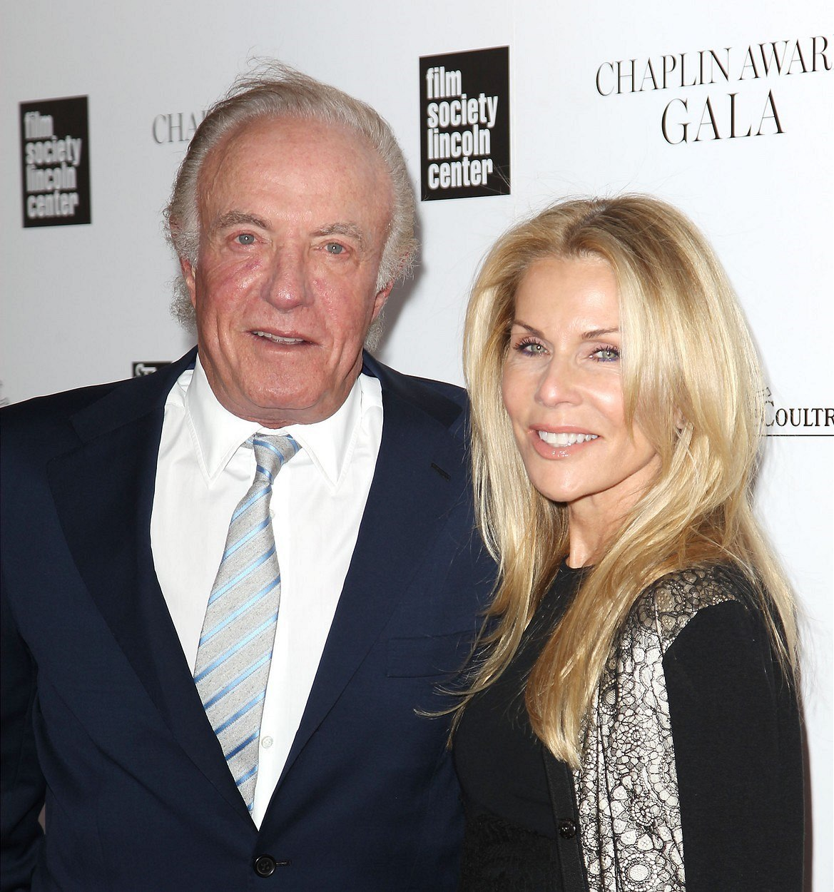 James Caan a Linda Stokesová (New York, 28. dubna 2014)