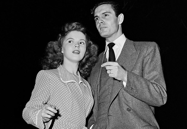Louis Jourdan s Shirley Temple - Blackovou.