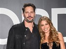 Joe Manganiello a Sofia Vergara (Los Angeles, 20. února 2015)