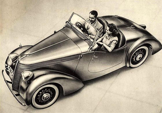Jawa Minor roadster, model 1939