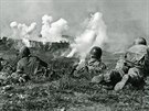 Okinawa 9US-1945-5-0-A1-8 WWII, Battle of Okinawa, capture of Naha History /...
