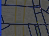 Pac-Man v Google Maps