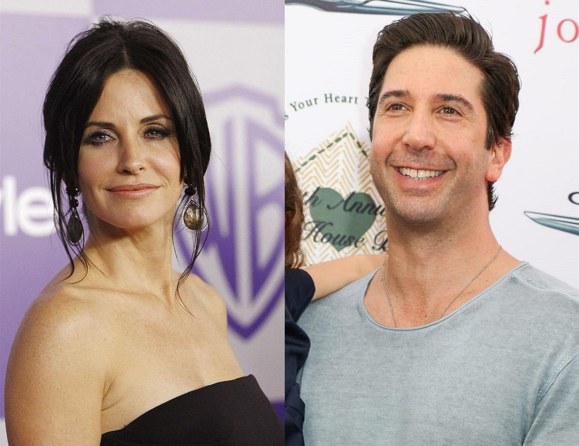Courteney Coxová a David Schwimmer