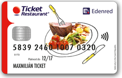 Ticket Restaurant Card – elektronická stravenka Edenred