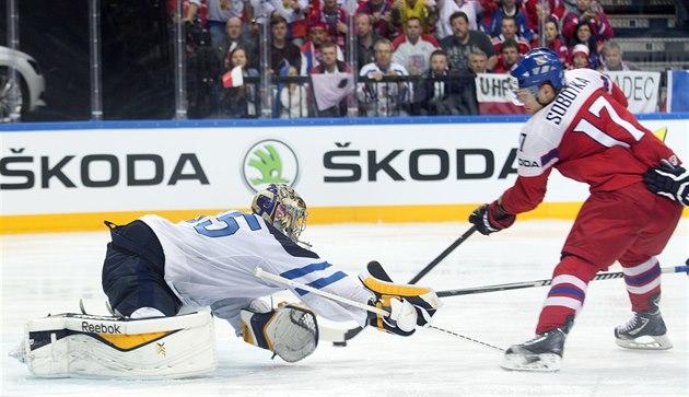 Sobotka leder KHL kanadensiska poäng, fransmännen skadade sin fotled