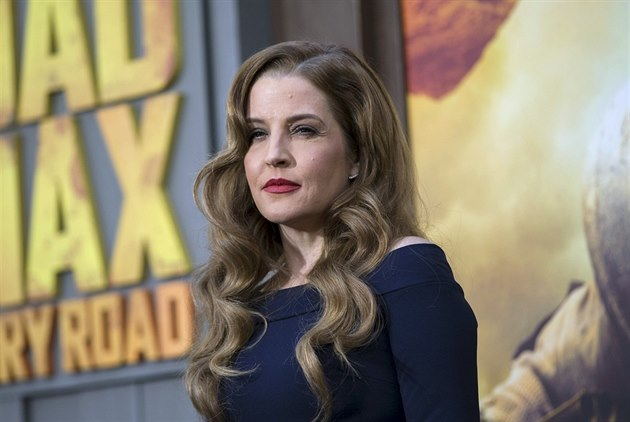 Lisa Marie Presley (Los Angeles, 7. kv�tna 2015)