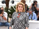 Catherine Deneuve (Cannes, 13. kv�tna 2015)