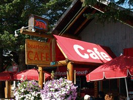 Cooke City - restaurace Beartooth Cafe