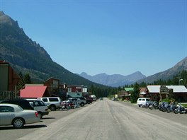 Cooke City - Main Street