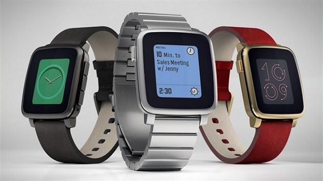 Pebble Time Steel je nejnov�j�í generací hodinek Pebble