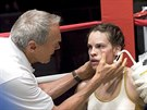 Clint Eastwood a Hilary Swanková ve filmu Million Dollar Baby (2004)