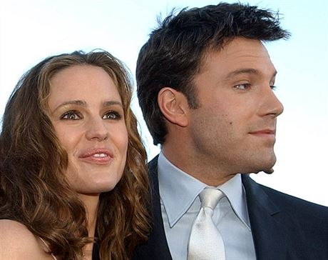 Jennifer Garnerová a Ben Affleck (Los Angeles, 9. února 2003)