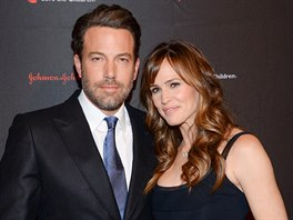 Ben Affleck a Jennifer Garnerová (New York, 19. listopadu 2014)