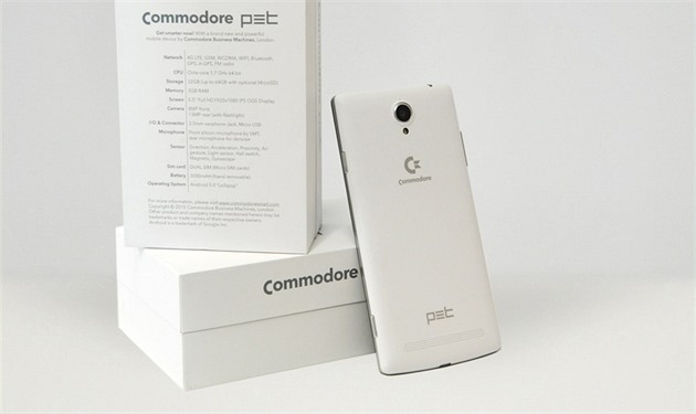 Smatphone Commodore PET