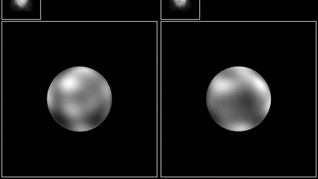Než se New Horizons přiblížil k Plutu, nejlepší fotka planety, jakou jsme měli k dispozici, vypadala takto.