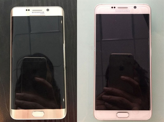 Samsung Galaxy S6 edge+ a Galaxy Note 5