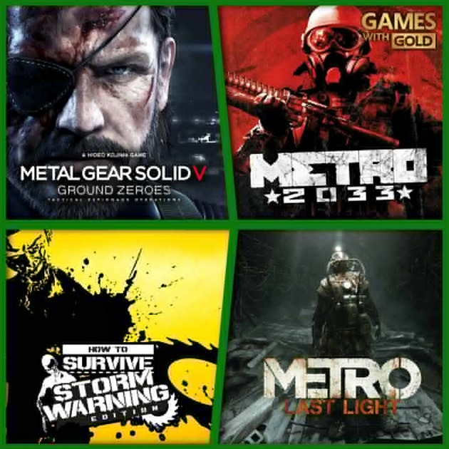 Games with Gold - srpen 2015