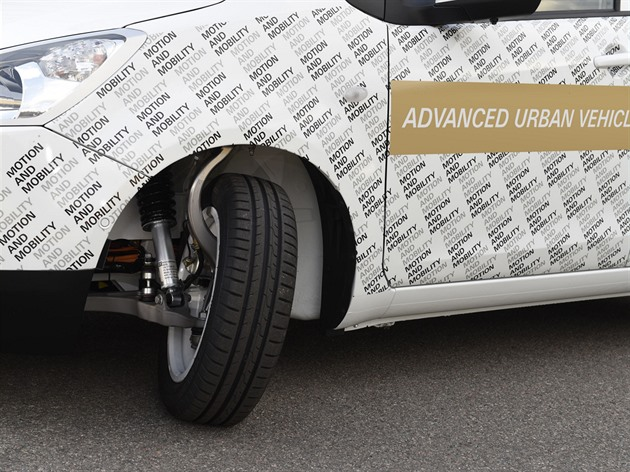 ZF Advanced Urban Vehicle