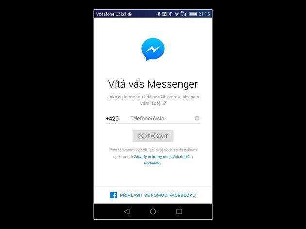 fotogalerie facebook messenger nov dovoluje registraci i