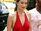 Here�ka Olivia Wilde na nat��en� Rock 'N' Roll v New Yorku.