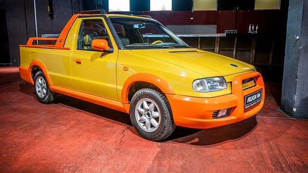 Novı koncept navazuje na pick-upy Škody z devadesátıch let.