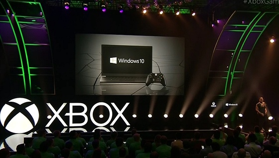 Xbox One a Windows 10