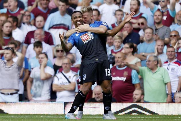 I England leder Leicester. United förlorade, nykomlingen lyckades en shootout