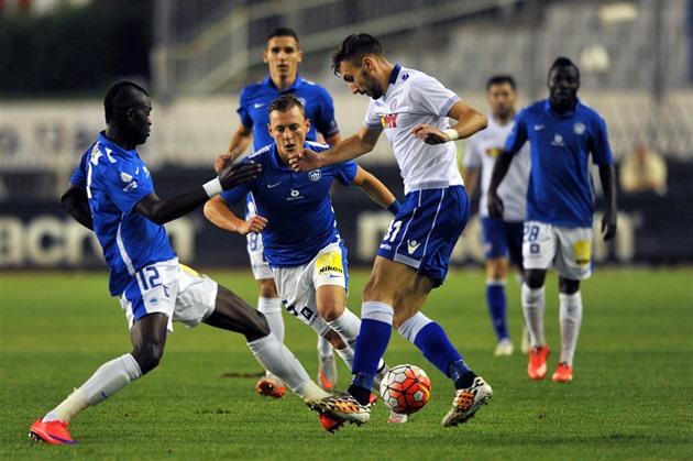 Hajduk Split – Liberec 0: 1, Šuralův mål säkrade proceduren