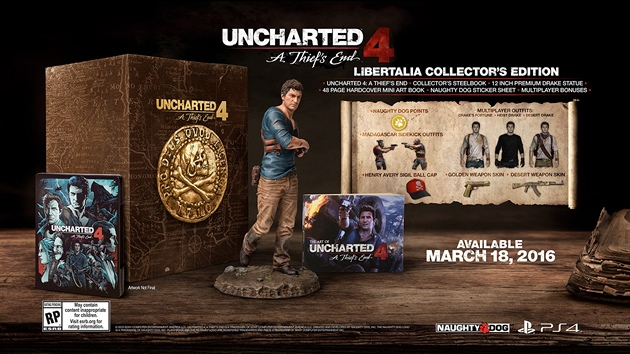 Uncharted 4: A Thief's End - sběratelská edice