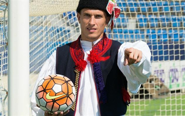 Slovácko lockar fans. I kostym för Liberec = ingång gratis