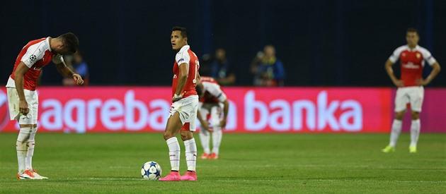 Arsenal utan tjeckisk mästare i Champions League förlorade, Barcelona förlorade till Rom