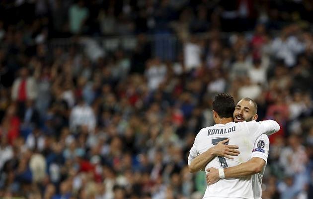 Ronaldo gjorde först fel straff och flyrde sedan till Messi