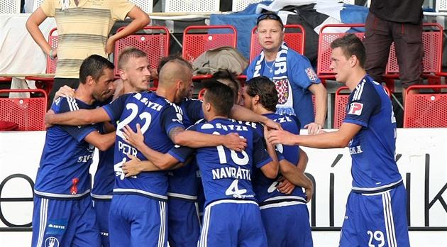 De skakade, men den första vinsten i Olomoucs fotbollsäsong var utsökt