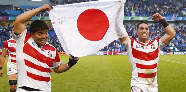 Når japansken ikke er japansk. New Zealanderne hjalp rugbyfølelsen