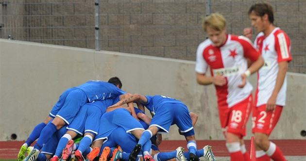 Slavia gikk ned i Ústí og avsluttet koppen, men Dukla og Zlín gikk fremover